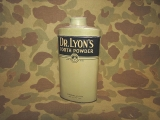 Tooth Powder - DR. LYON`S - PX - US Army USMC WWII WK2 Personal Effects