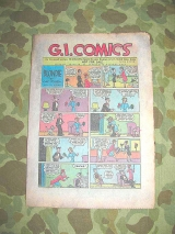 G.I. Comics #15 - 1945 - printed by Special Service Division, US Army WWII WK2