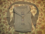 M1 Ammunition Carrying Bag + General Purpose Strap- 1949 / 1951 - US Army Occupation - Vietnam Korea