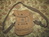 M-209 Haglin Converter Bag / Cipher Machine Bag (US ENIGMA) - US Army WWII WK Signal Corps