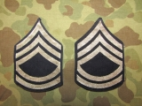Technical Sergeant Ranks - original - Dienstgradabzeichen US Army WWII WK2