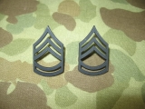 Sergeant First Class Ranks E-7 - Pin On - Dienstgrad für Kragen - US Army Vietnam REFORGER