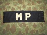 MP Brassard - Armbinde - US Army Military Police AAF WWII WK2 II
