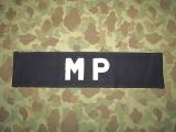 MP Brassard - Armbinde - US Army Military Police AAF WWII WK2 III
