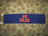 AIR POLICE Brassard - MP Armbinde - US Airforce Military Police - Army of Occupation, Korea, Berlin
