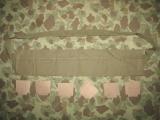 M1 Garand Bandoleer / Bandolier OD#3 + 6 Cardboards für .30-06 Clips - US Army USMC WWII WK2