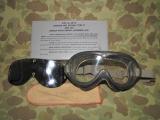 Flying Goggles Type II (wie B-8) - Schutzbrille für Piloten - US NAVY USMC USN Naval Aviator Vietnam