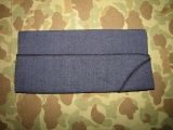 Overseas Cap / Garrison Cap, Enlisted - Size 7 1/8 - Dress Blue - US Air Force Vietnam