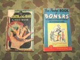 2x WWII Pocket Books Humor + Crime - 1943 & 1945 - Taschenbücher - US Army WW2
