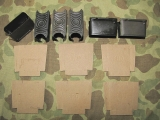 6x M1 Garand Clip + 6x Cardboard - Ladestreifen .30-06 - US Army USMC
