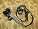 T-17 Microphone - 1944 - Mikrofon für Funkgeräte - US Army USMC WWII WK2