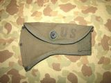 M-1950 Camp Axe Cover - Top Zustand - US Army USMC Vietnam Occupation