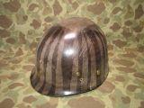 M1 Helmet Liner - FIRESTONE - OD#3 HBT Webbing - US Army USMC WWII