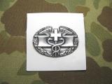 Combat Medical Badge - Metall - OVP - 1971 datiert - US Army Vietnam