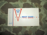 Victory V-Post Card - Buddy Postal - US NAVY WWII