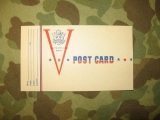 Victory V-Post Card - Buddy Postal - US ARMY WWII